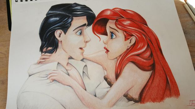 eric and ariel by jerrydeboo