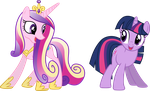 Cadance's and Twilight's Ladybug Dance (1) by 90Sigma