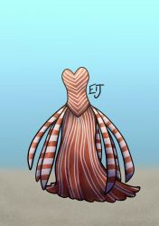 Lionfish Dress by Cateye-and-Fox