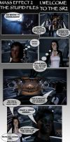 The Stupid Dossiers MassEffec2 by bishou-no-soujiro