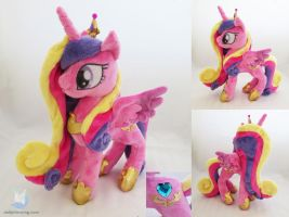 Princess Cadance Plushie by dollphinwing