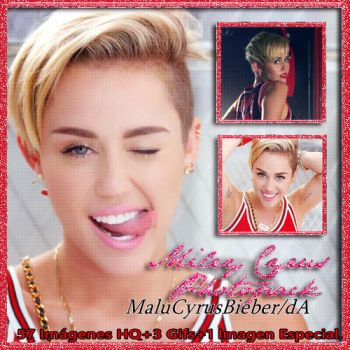 Miley Cyrus Photopack |23 by MaluCyrusBieber