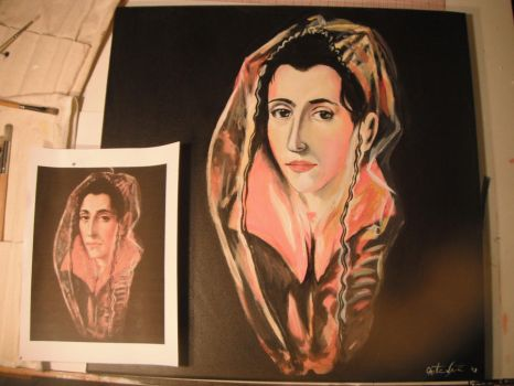Portrait of a Woman- El Greco by Forever-Young10