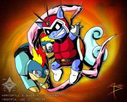 Viewtiful Wartortle by Arbok-X