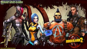 Borderlands 2 Vault Hunters by Deaddoll666