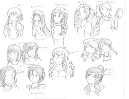 Beautiful Girls All Over the World by TUNSEM