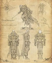 Drow Marauder design commission by revoincubus