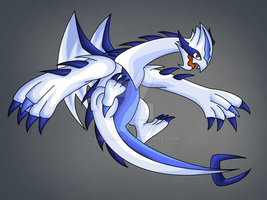 Mega lugia by Light-linx