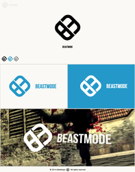 BEASTMODE | GAMING logo presentation by eldodesign