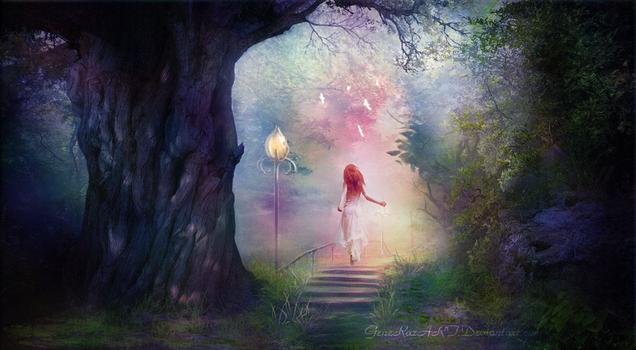 The Enchanted Forest by Ellysiumn