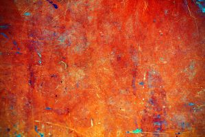 orange abstract texture 2 by beckas