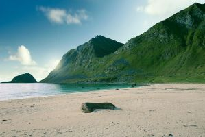 Autumn in Lofoten by streamweb