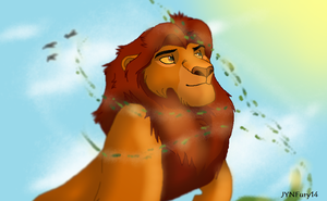 The Great King Mufasa by JYNFury14