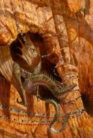 Dragons of Red Rocks Canyon by AaronMiller