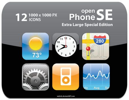 openPhoneSE Extra Large by Walrick
