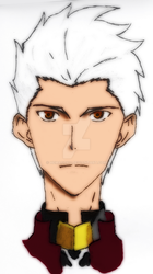 Archer - Fate Stay Night (colored) by hemagoku