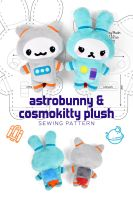 Astrobunny Plush Pattern by SewDesuNe