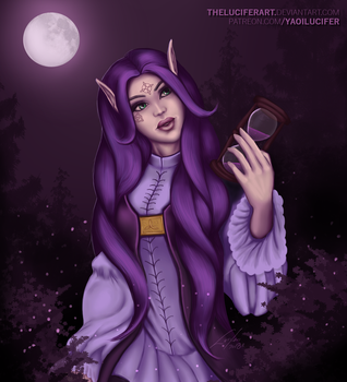 Elf  |commission - cover | by TheLucifersArt