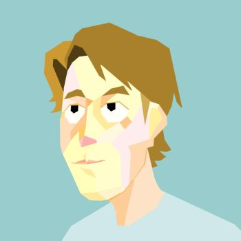 Low Poly Portrait by jumpclumps