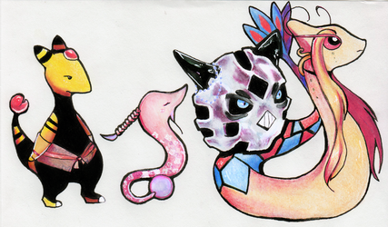 TnY- Characters as actual pokemon by Accyber
