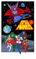Battle Of The Planets! by CreedStonegate