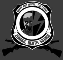 Zombie Death Squad - Badge by angelsXdemons