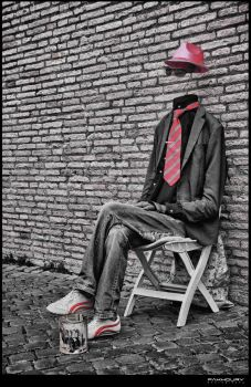 invisible man by saleemFa5oury