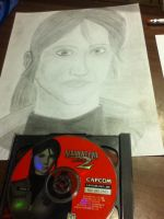 Drawing of Claire Redfield from Resident Evil by MIZTER-ROOTBEER
