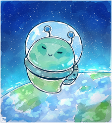 First Oozie in Space by Louivi