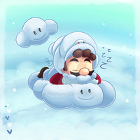 Cloudy Snooze by Soloya64