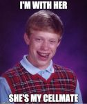 My first Bad Luck Brian by mrbill6ishere