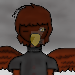 Eagle Prior to Infection by IttyBitty1996