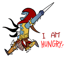 Smite - I am hungry  (Chibi) by Zennore
