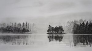 Cold Mist - Graphite by 6re9