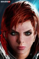 Commander Shepard (Female) by trpbootan
