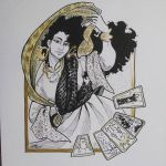 Inktober2015 Day:14 - Fatima by Jackie-M-Illustrator