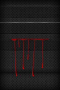 Bloody iPhone 4 Wallpaper by Fosterding
