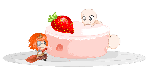 Open Collab- Lobster Cake by LullabyForTheLost