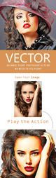 Vector Advance Painting Photoshop Action by Kluzya