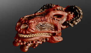Sculptris Test Dragon by Xels034