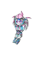 1/2 Chibi Rosepental by RadioactiveRays