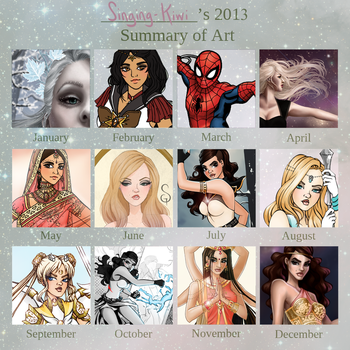 2013 Art Summary by SLMGregory