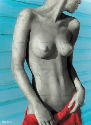 Tanja Transformed, Topless by Rastatue