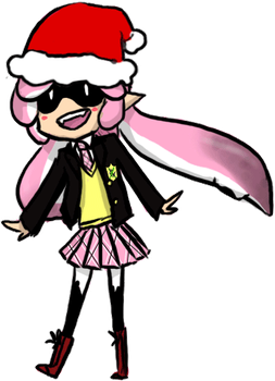 .:Merry Squidmassss:. by Sonicsis
