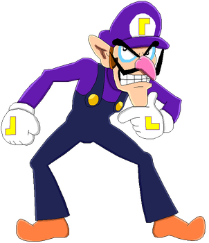 Waluigi by MollyKetty