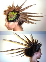 Feather Head Explosion by rain2shine