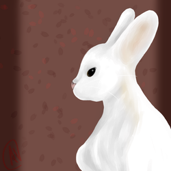 Cottontail Bunny~ by Karmen4290