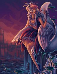 Swan Lake by painted-bees