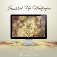 Jumbled Up Wallpaper by NKspace