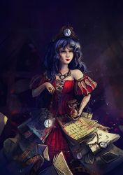 Time Lady by mary-petroff